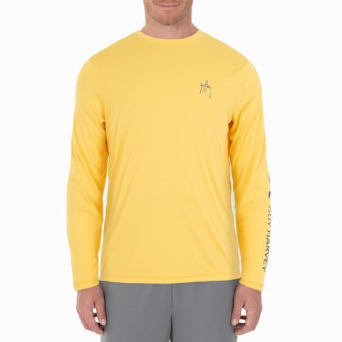 Men's Core Solid Long Sleeve Sun Protection Top