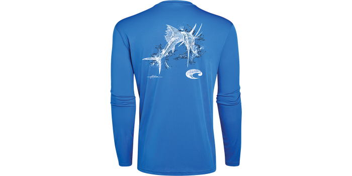 Tech Sailfish Long Sleeve Shirt