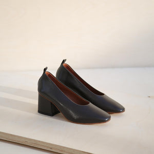 Pumps - Brown Saffiano Sale (ONLY 1)
