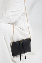Top Zipper Bag - Black