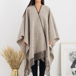 Fringed Cape - Natural Sale (SOLD OUT)