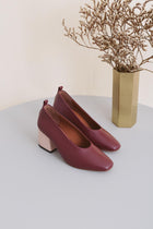 Pumps - Burgundy (ONLY 1)