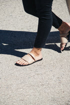 Agatha Nappa Slides - Sand Sale (ONLY 1)
