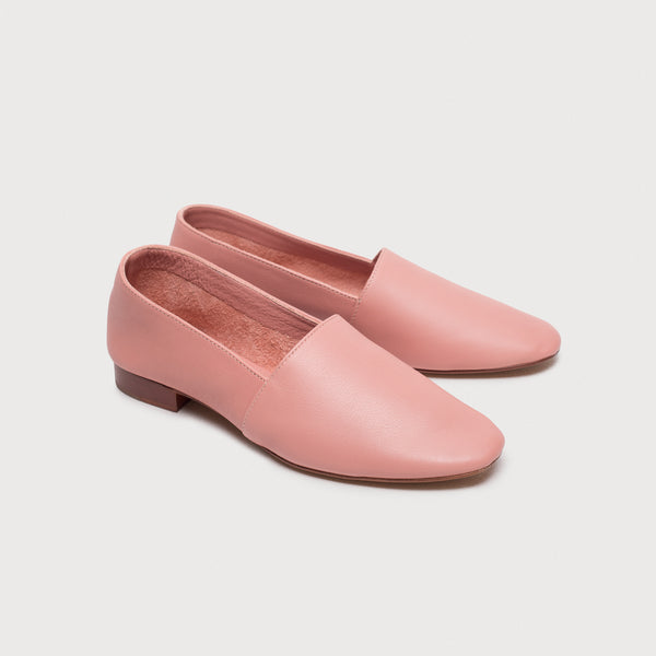 Sophia Nappa Slipper - Dusty Rose