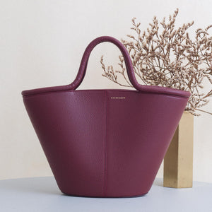 Classic Tote - Bordeaux Pebble Sale (ONLY 2)