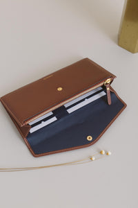 Large Edna Wallet - Chocolate Sale (SOLD OUT)