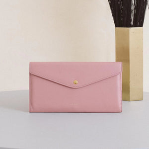 Large Edna Wallet - Dusty Rose Sale (ONLY 2)