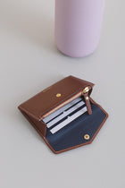 mini Edna Wallet - Chocolate