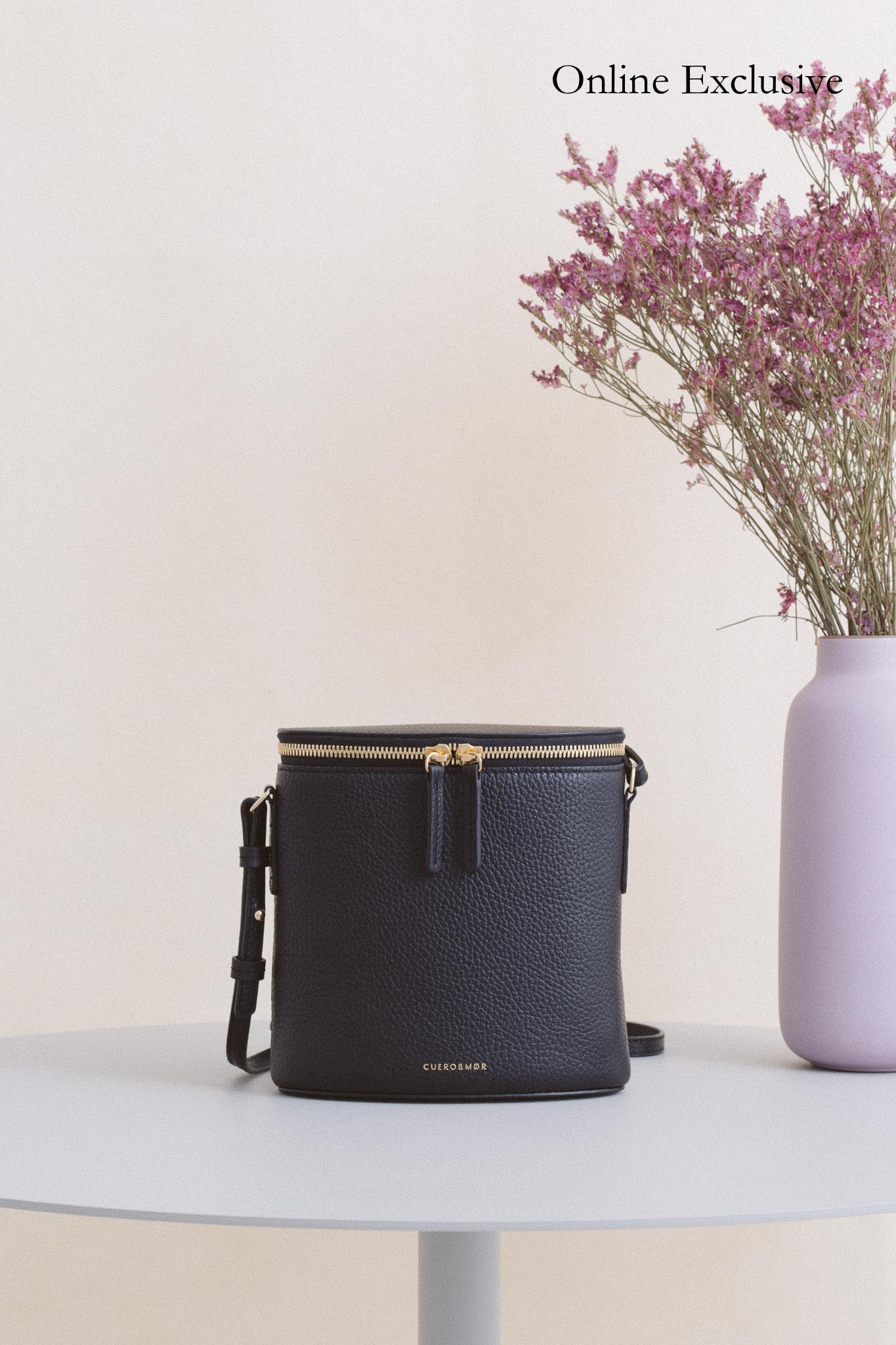 Perla Bucket - Black Pebble