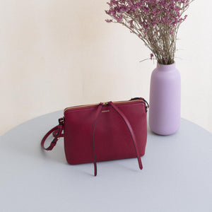 Top Zipper Bag - Red Wine Sample (ONLY 1)