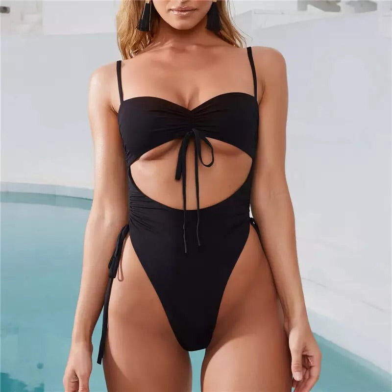 Jaya Swimsuit Black - Not Your Baby Boutique
