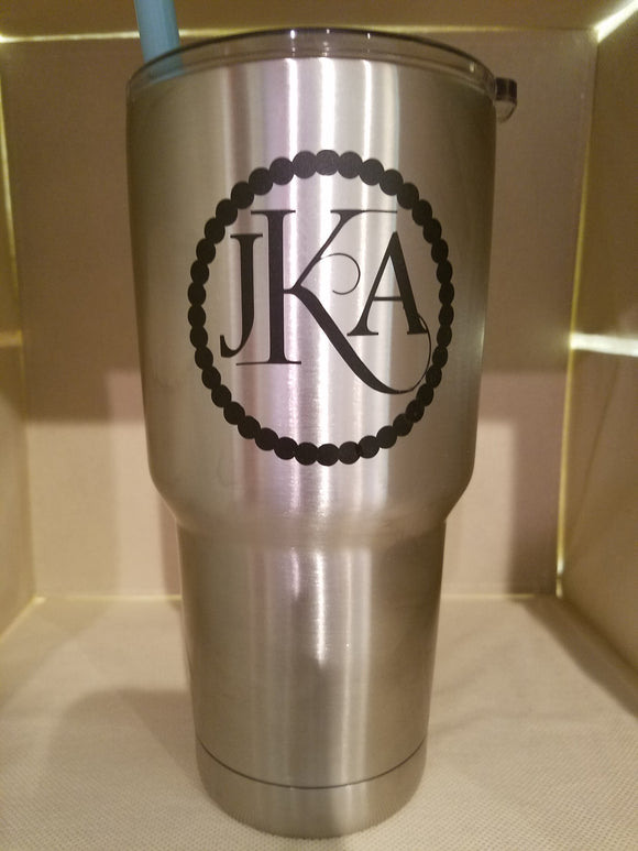 Fiona Tumbler Monogram (Sticker Only)
