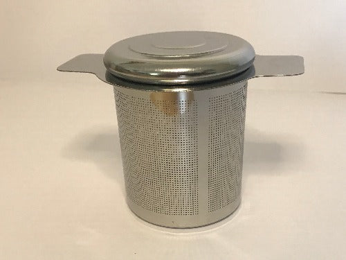 Stainless steel infuser with lid