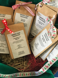 SAMPLE PACKS includes two assorted tea sample packets for the December promotions
