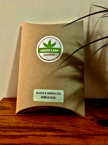 BLACK & GREEN TEA SAMPLE PACK