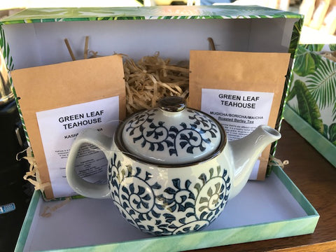 CERAMIC TEAPOT GIFT PACK
