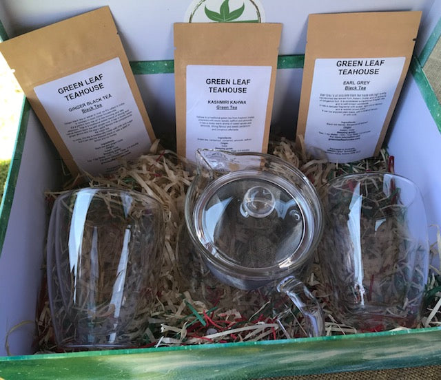 GLASS TEAWARE GIFT PACK