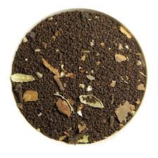 Masala chai is a popular Indian chai blend of Assam black tea and Indian aromatic dry spices.