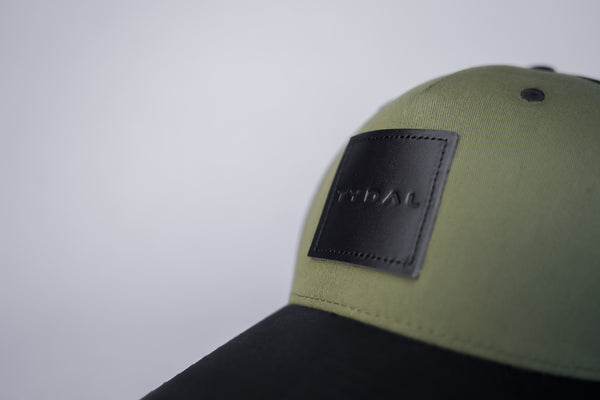 Moss Green Pre-Curved Snapback
