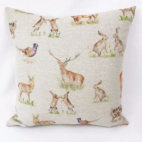 Highland Wildlife Cushion