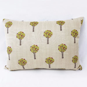 Embroidered Trees Cushion