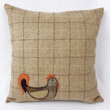 Check-Hen Cushion