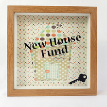 New House Fund - Money Box (Patchwork House)