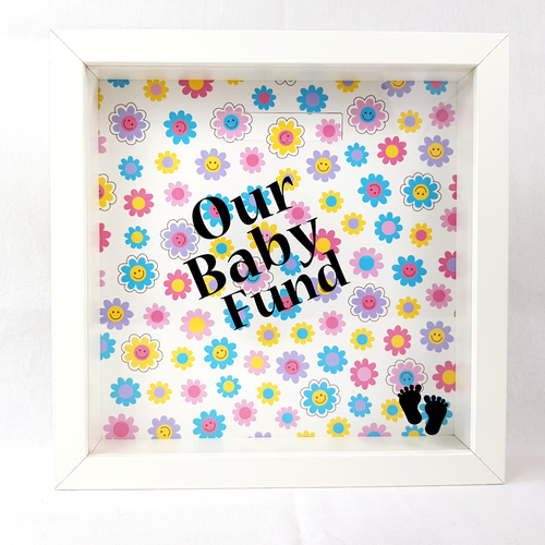Our Baby Fund - Money Box (Flower Faces)