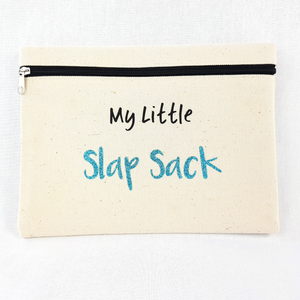 My Little Slap Sack Make Up Bag (Sky Blue Glitter)