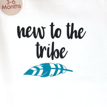 New To The Tribe - Baby Onesie -3-6mths