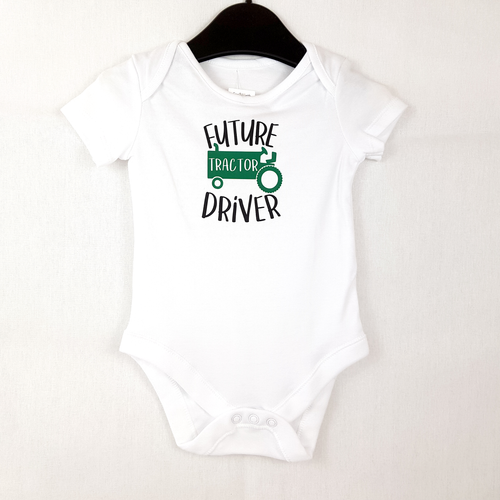 Future Tractor Driver - Baby Onesie