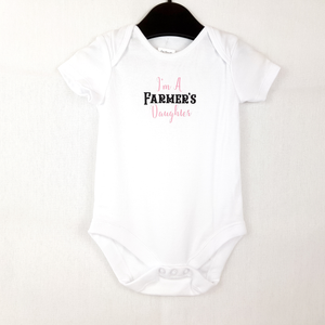 I'm A Farmer's Daughter - Baby Onesie