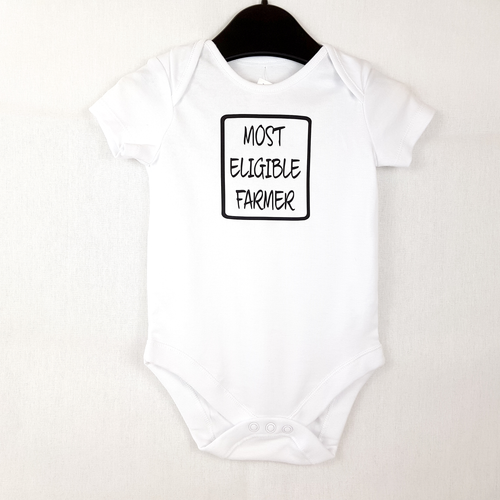 Most Eligible Farmer - Baby Onesie