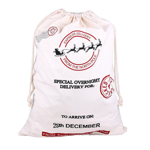 Express Delivery Personalised Santa Sack