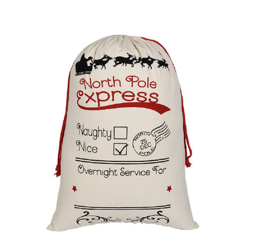 North Pole Express Personalised Santa Sack