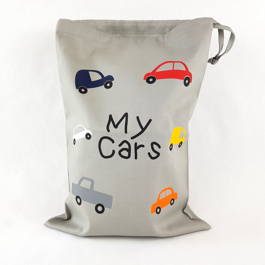 My Cars Drawstring Toy Bag