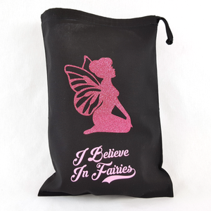I Believe In Fairies Drawstring Toy Bag