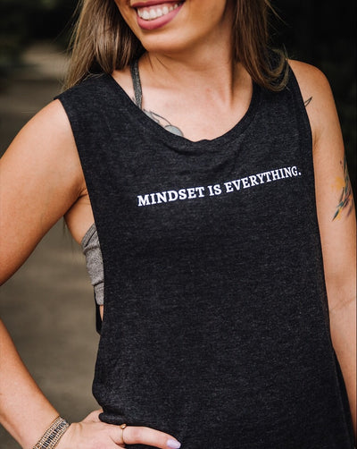 Mindset Is Everything Muscle Tank, ME12345S, ME12345M, ME12345SL, ME1234XL