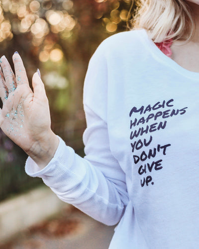 Magic Happens Long Sleeve Tee