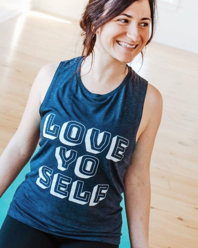 Love Yo Self Muscle Tank, S, M, L, XL