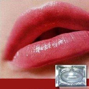 10pcs  Women Crystal Collagen Lip Mask Collagen Protein Crystal Masks For Lips Film Lip Care