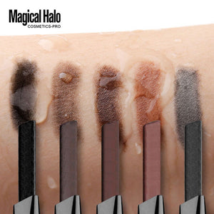 Magical Halo 1PC Professional Automatic Eyebrow Pencil Liner Eye Brow Pen with Brush Cosmetic Makeup Tools
