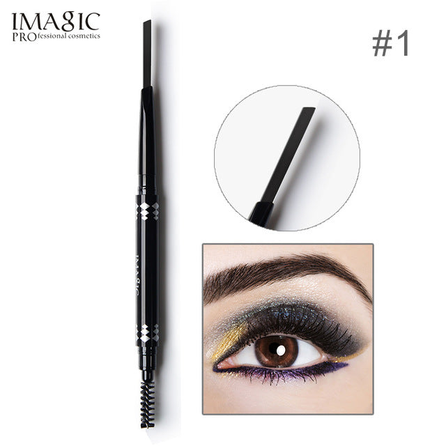 IMAGIC Brand Makeup Eyebrow Automatic Pro Waterproof Pencil Makeup 5 Style Paint Eyebrow Pencil Cosmetics Brow Eye Liner Tools