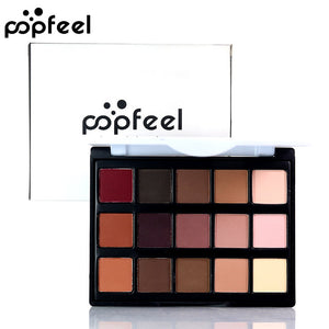 15 Color Eye Shadow (Waterproof)