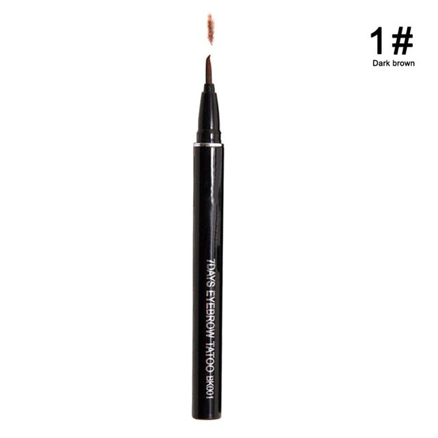 1Pc Profession Women Makeup Product Waterproof Brown 7 Days Eye Brow Eyebrow Tattoo Pen Liner Long Lasting Makeup Women Gifts