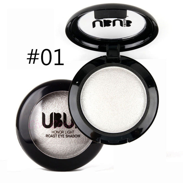 1PCS Quality 15 Color UBUB Professional Nude eyeshadow palette makeup matte Eye Shadow palette Make Up Glitter eyeshadow