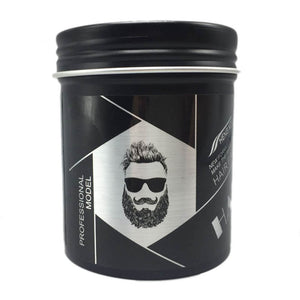 No-smell styling hair wax (hair clay) for men Greasy hair and slicked-back hair hazardless to hair Transparent moisturizing gel
