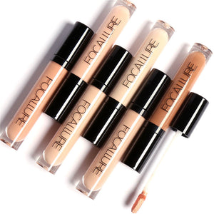 New Dark Skin Face Contour Concealer Cosmetics Waterproof Color Corrector Liquid Foundation Focallure Brand Concealer Makeup