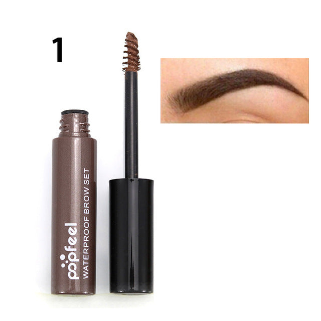 New Hot Brand Makeup Eye Brow Gel Coffee Black Brown Paint Eyebrows Gel Waterproof Eyebrow Tint Mascaras Kit Sobrancelha