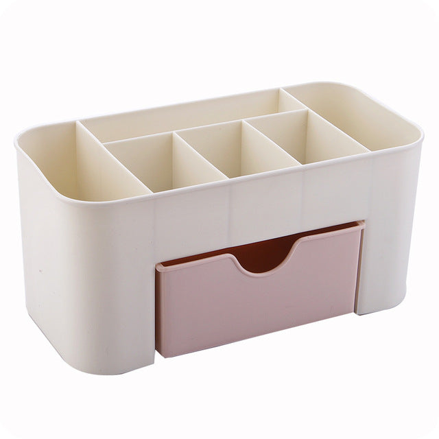 LASPERAL Plastic Cosmetic Storage Box Small Drawer Jewelry Box Desktop Sundries Storage Container Makeup Organizer Casket